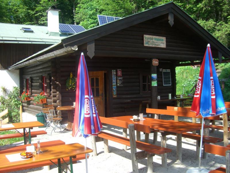 Grünsteinhütte 1202m