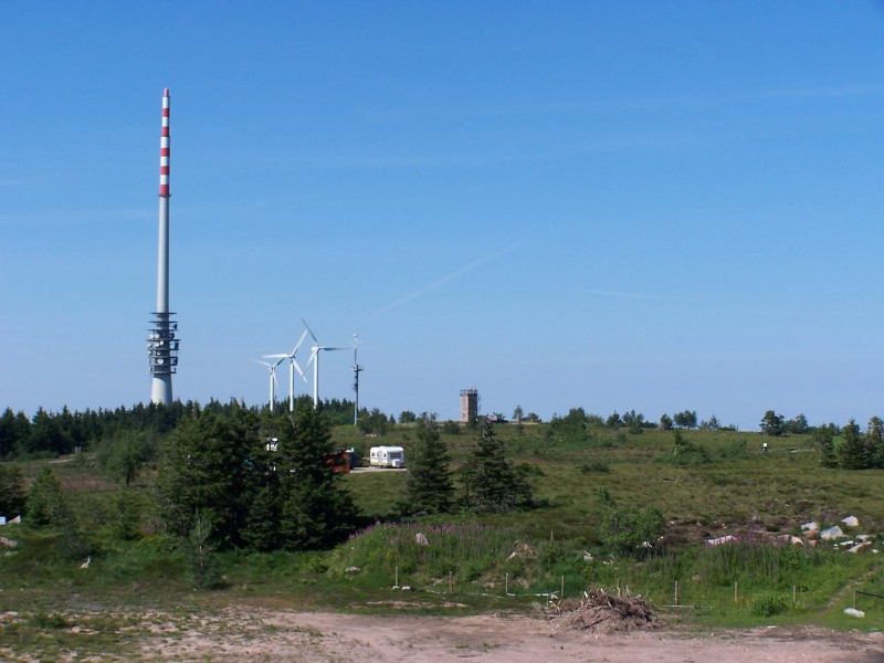 Hornisgrinde 1163m