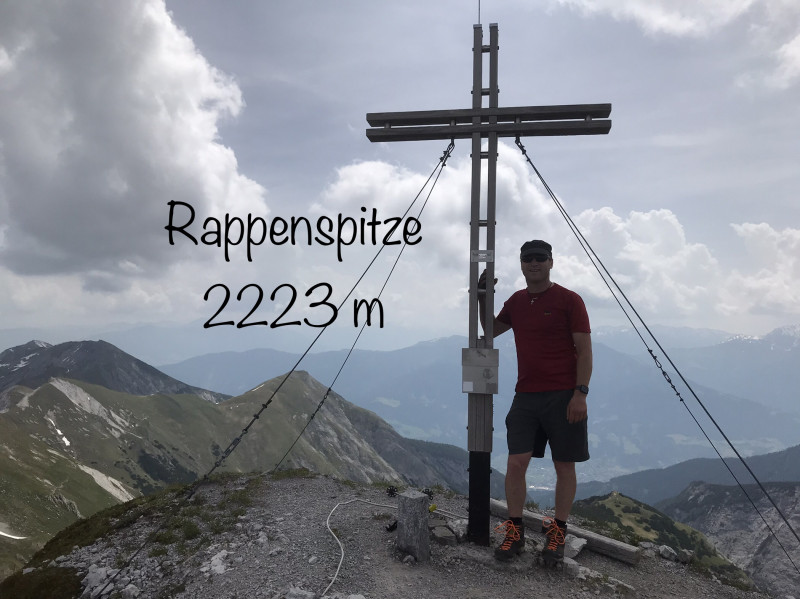 Rappenspitze 2223m