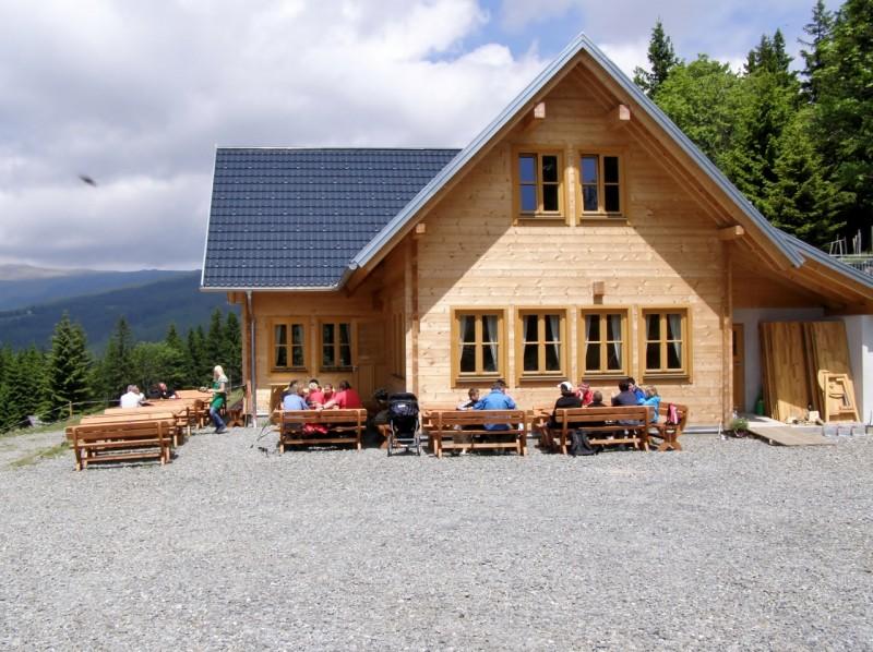Glazl Trahütten Alm 1264m