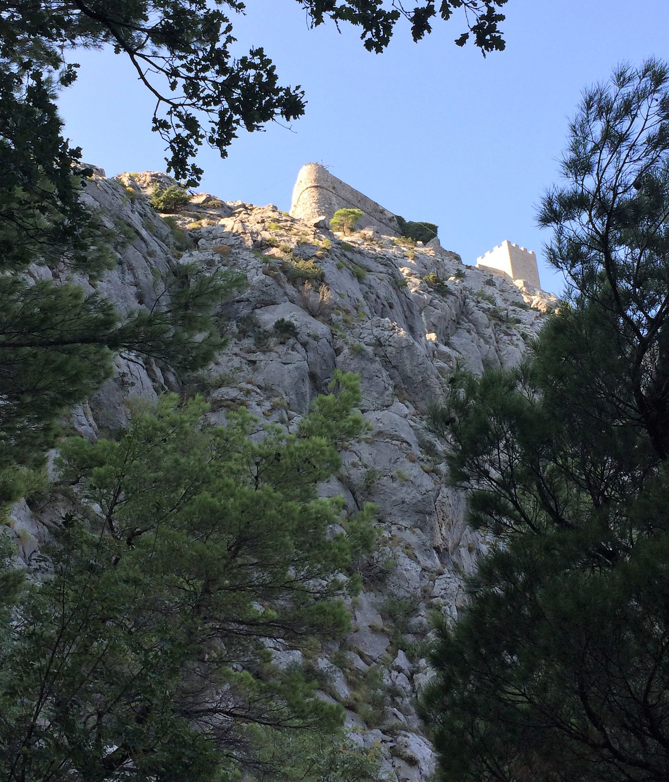 Burg Strigrad fortica 250m