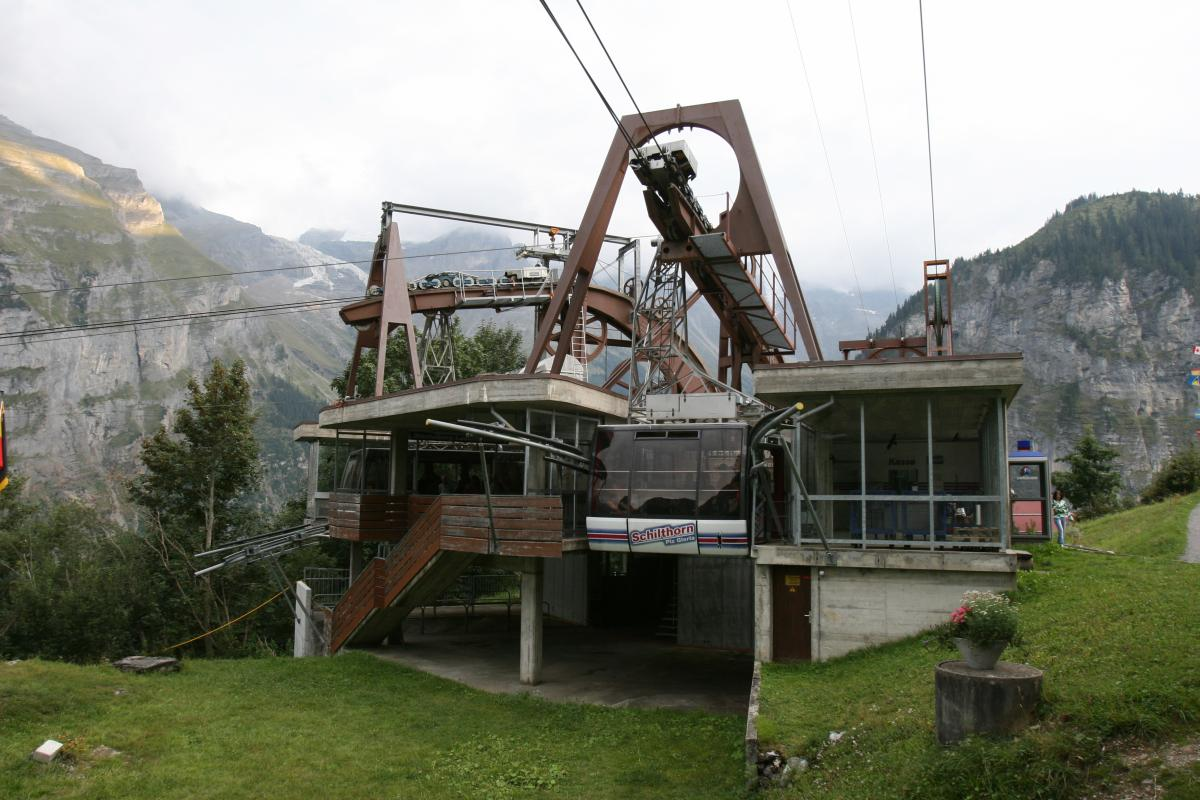 Gimmelwald 18346 - A new cableway for Piz Gloria