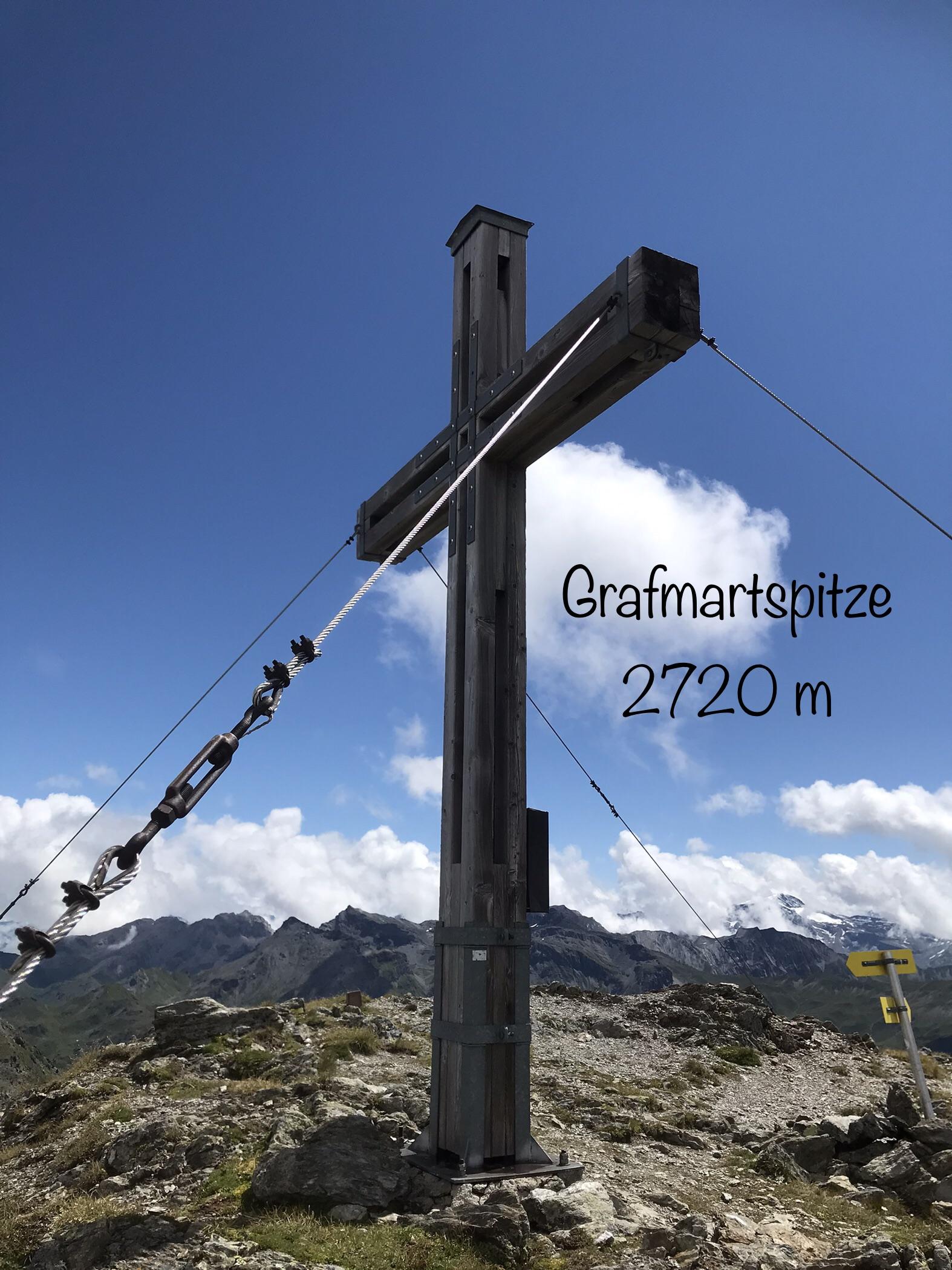 Grafmartspitze 2720m