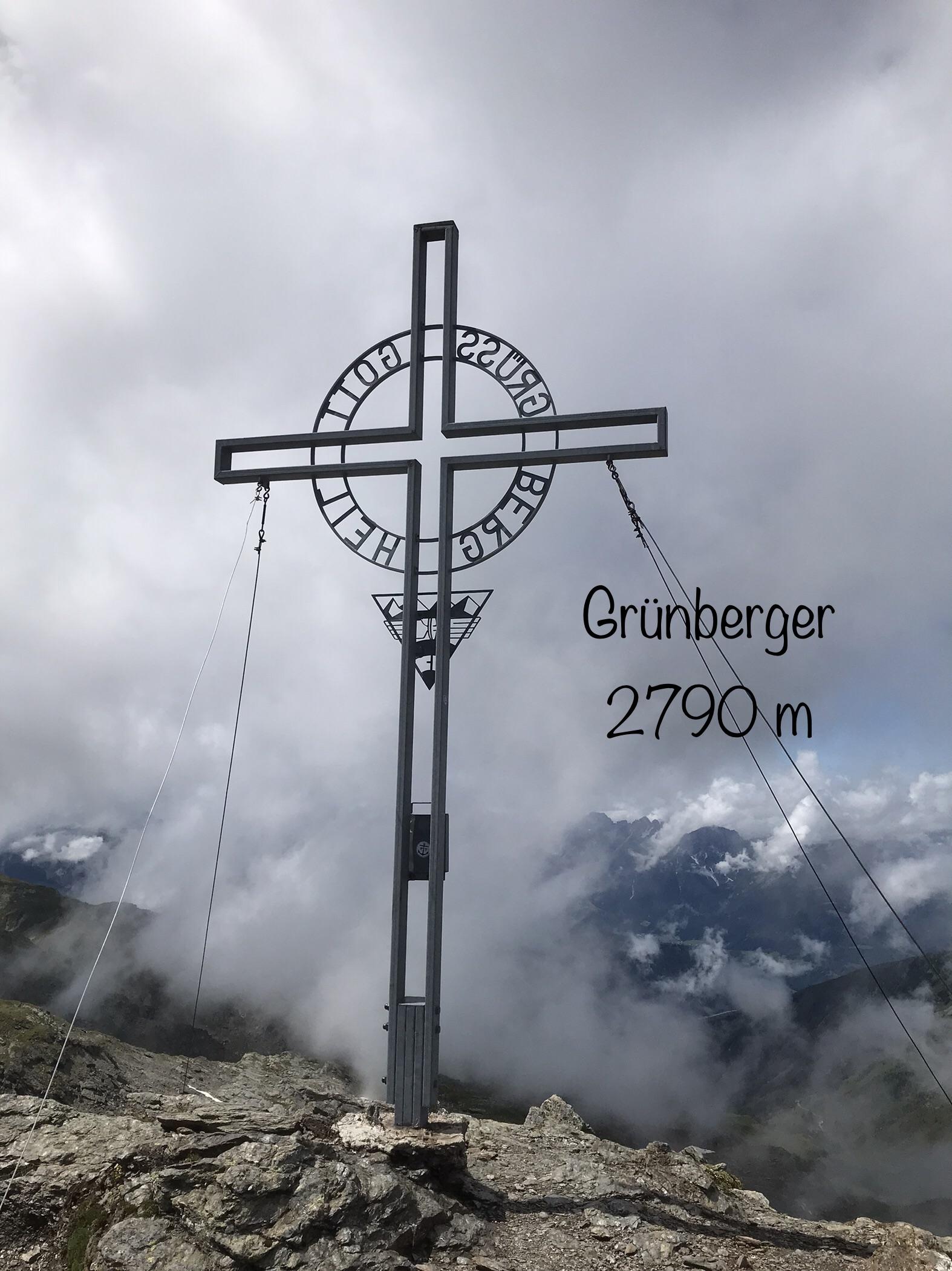 Grünbergspitze 2790m