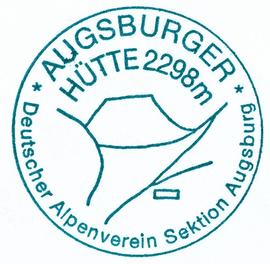 Augsburger Hütte 2298m