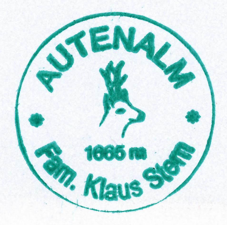 Autenalm 1665m