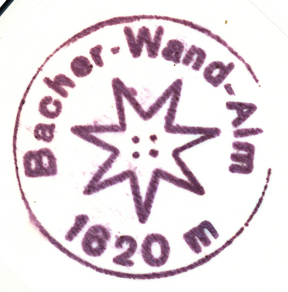 Bacherwandalm 1620m