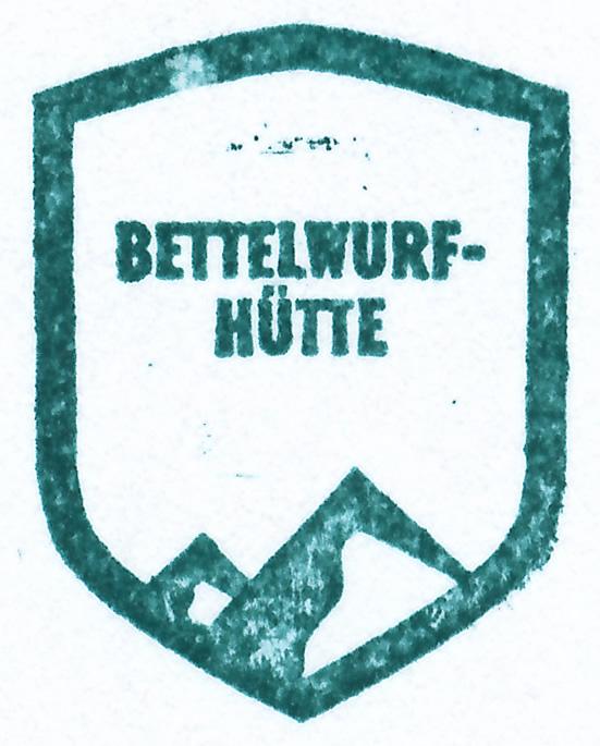 Bettelwurfhütte 2077m