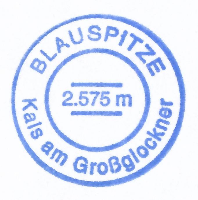 Blauspitze 2575m