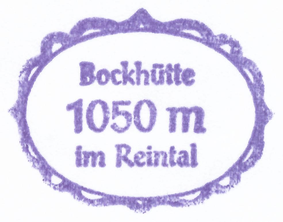 Bockhütte 1052m