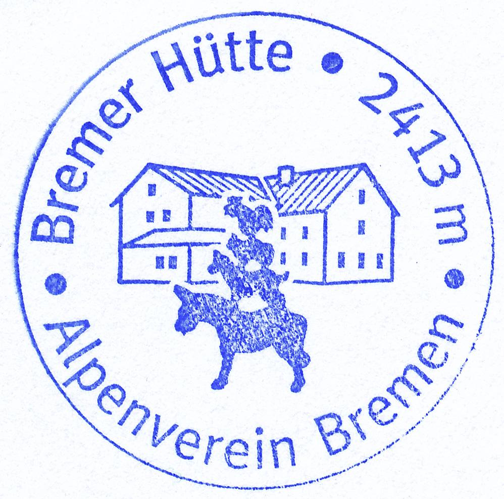 Bremer Hütte 2413m