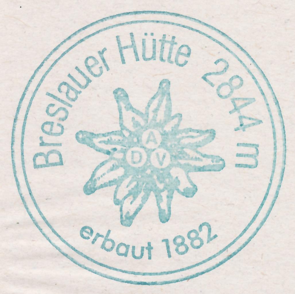 Breslauer Hütte 2844m
