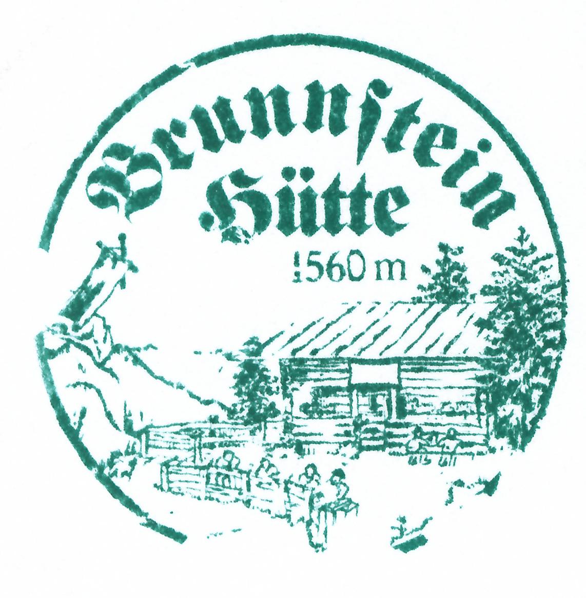 Brunnsteinhütte 1560m