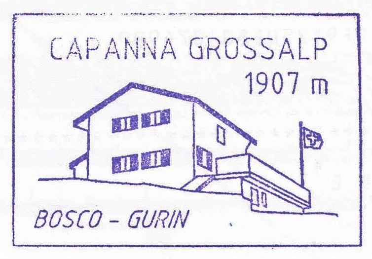 Capanna Grossalp 1907m
