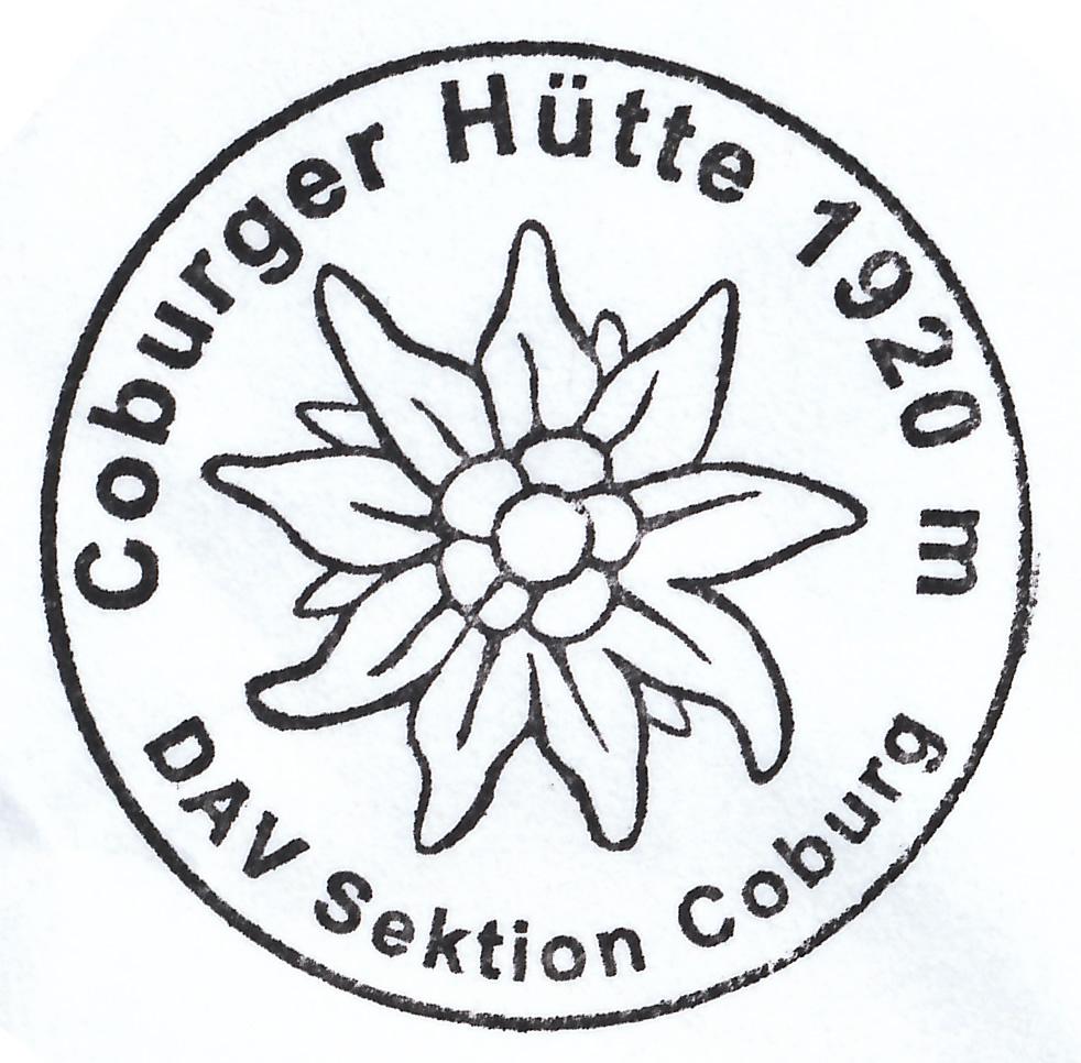 Coburger Hütte 1917m