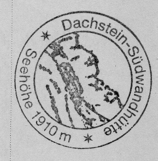Dachsteinsüdwandhütte 1871m
