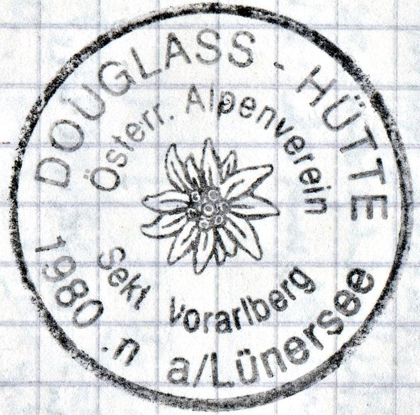 Douglasshütte 1980m