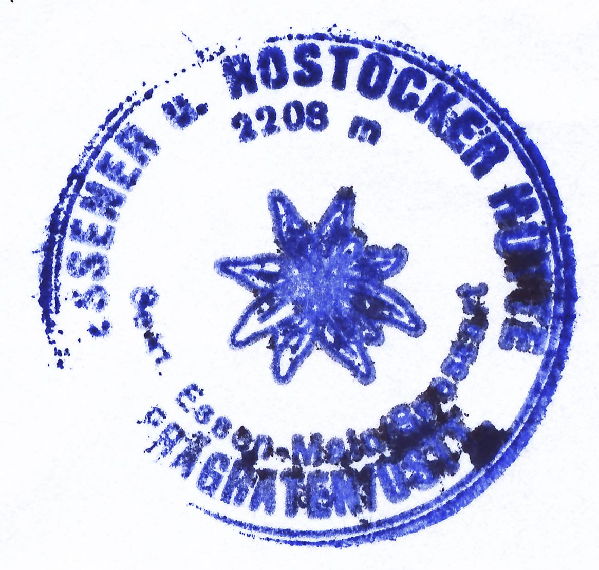 Essener-Rostocker Hütte 2208m