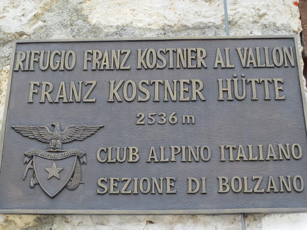 Franz-Kostner-Hütte 2536m