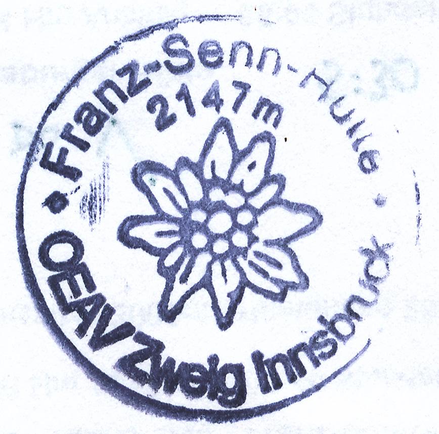 Franz-Senn-Hütte 2147m