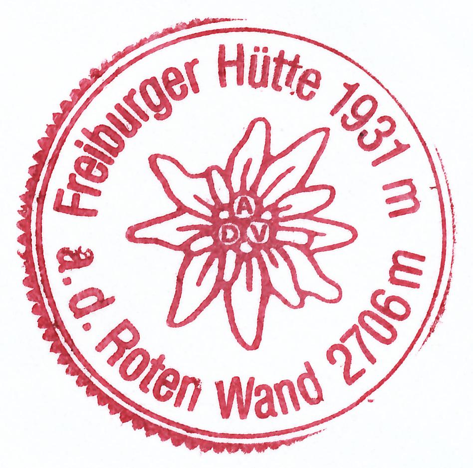 Freiburger Hütte 1931m