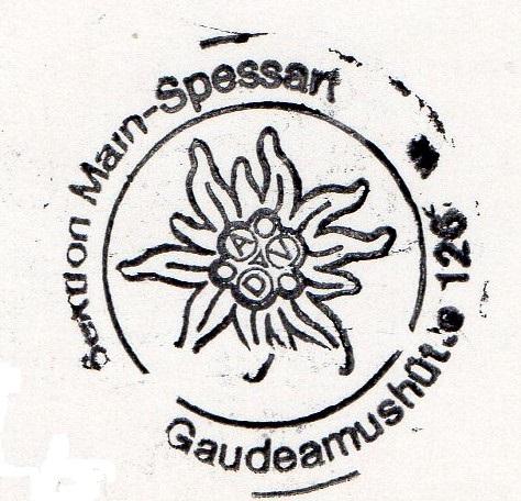 Gaudeamushütte 1267m