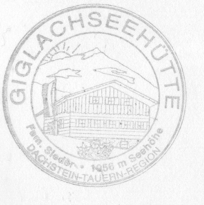 Giglachseehütte 1955m