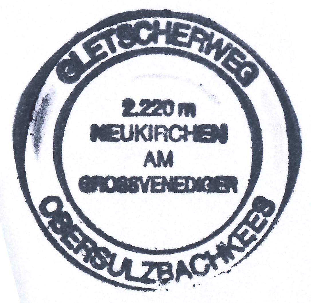 Gletschersee Obersulzbachtal 2210m