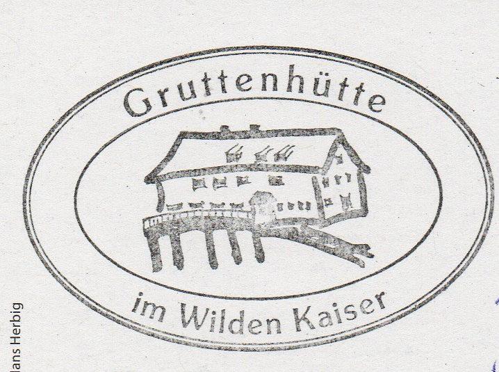 Gruttenhütte 1619m
