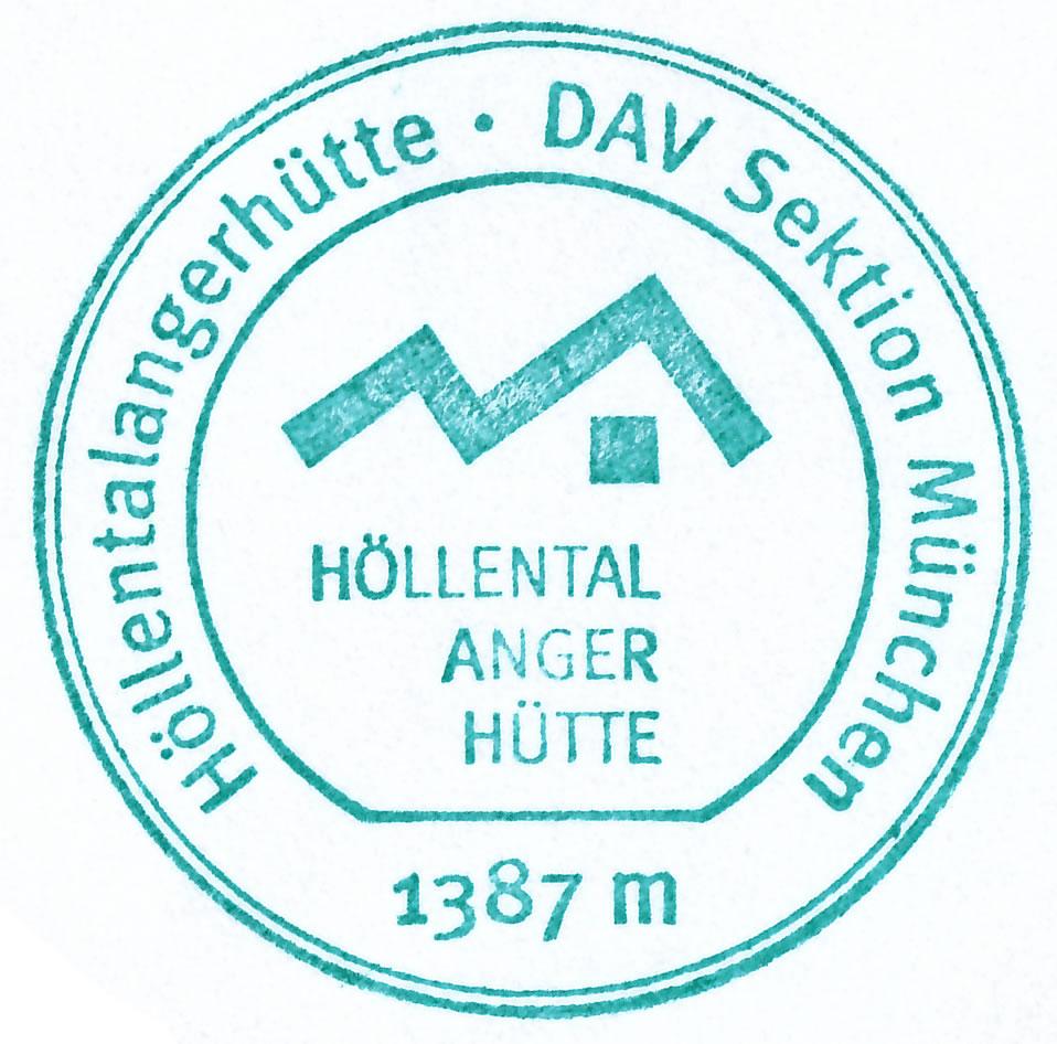 Höllentalangerhütte 1387m