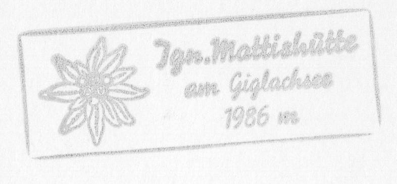Ignaz-Mattis-Hütte 1986m