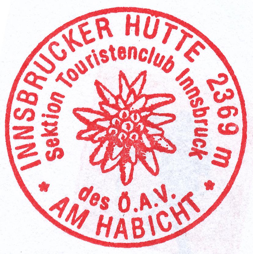 Innsbrucker Hütte 2369m