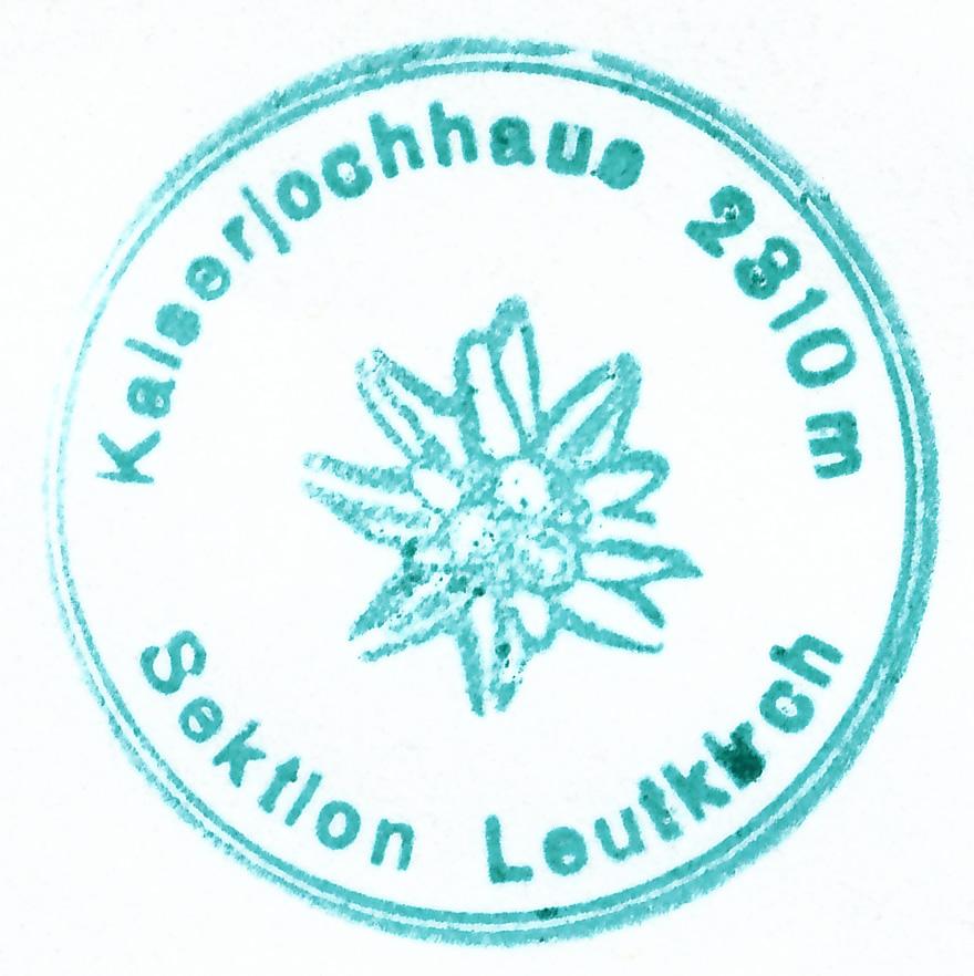 Kaiserjochhaus 2310m