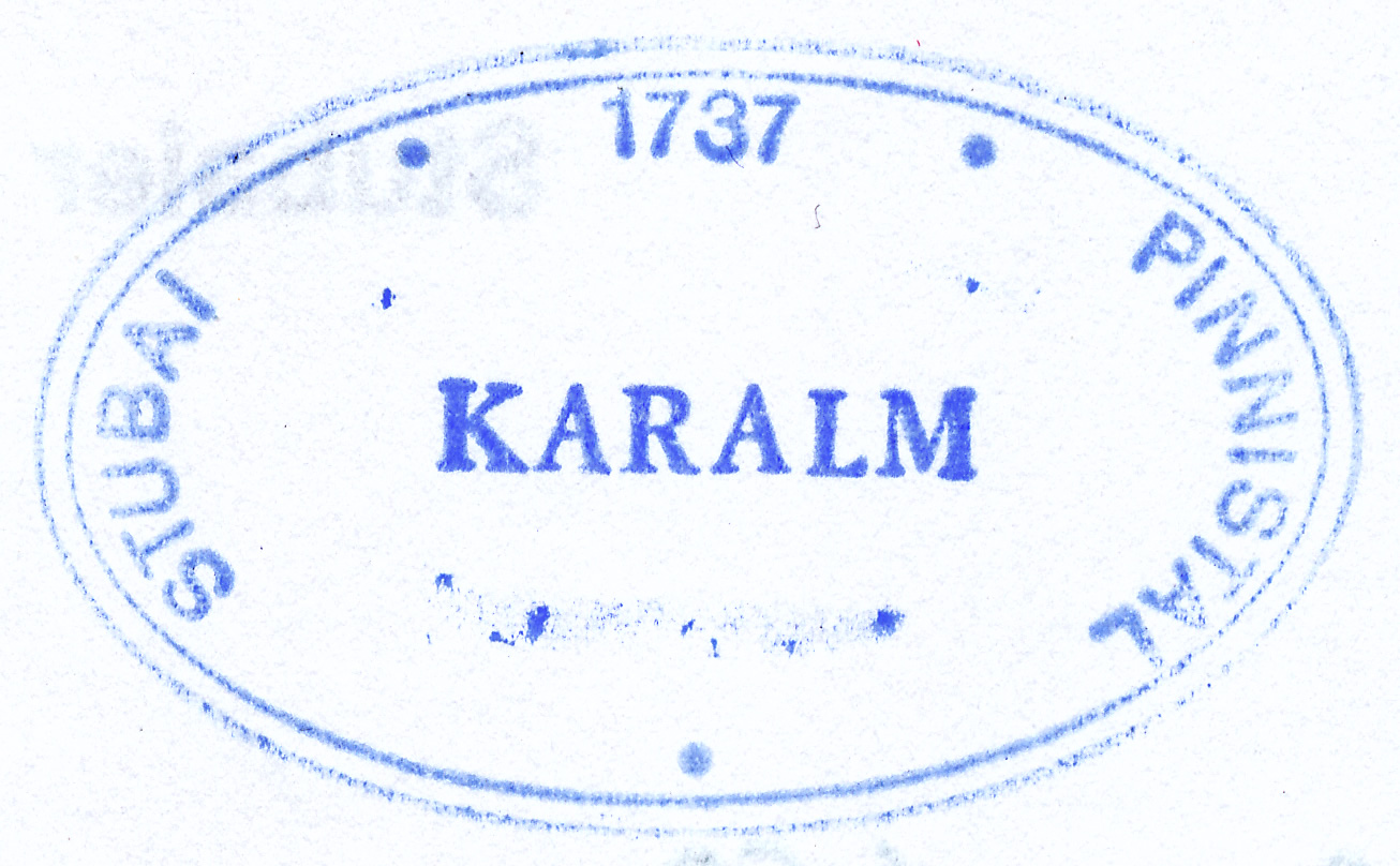 Karalm 1737m