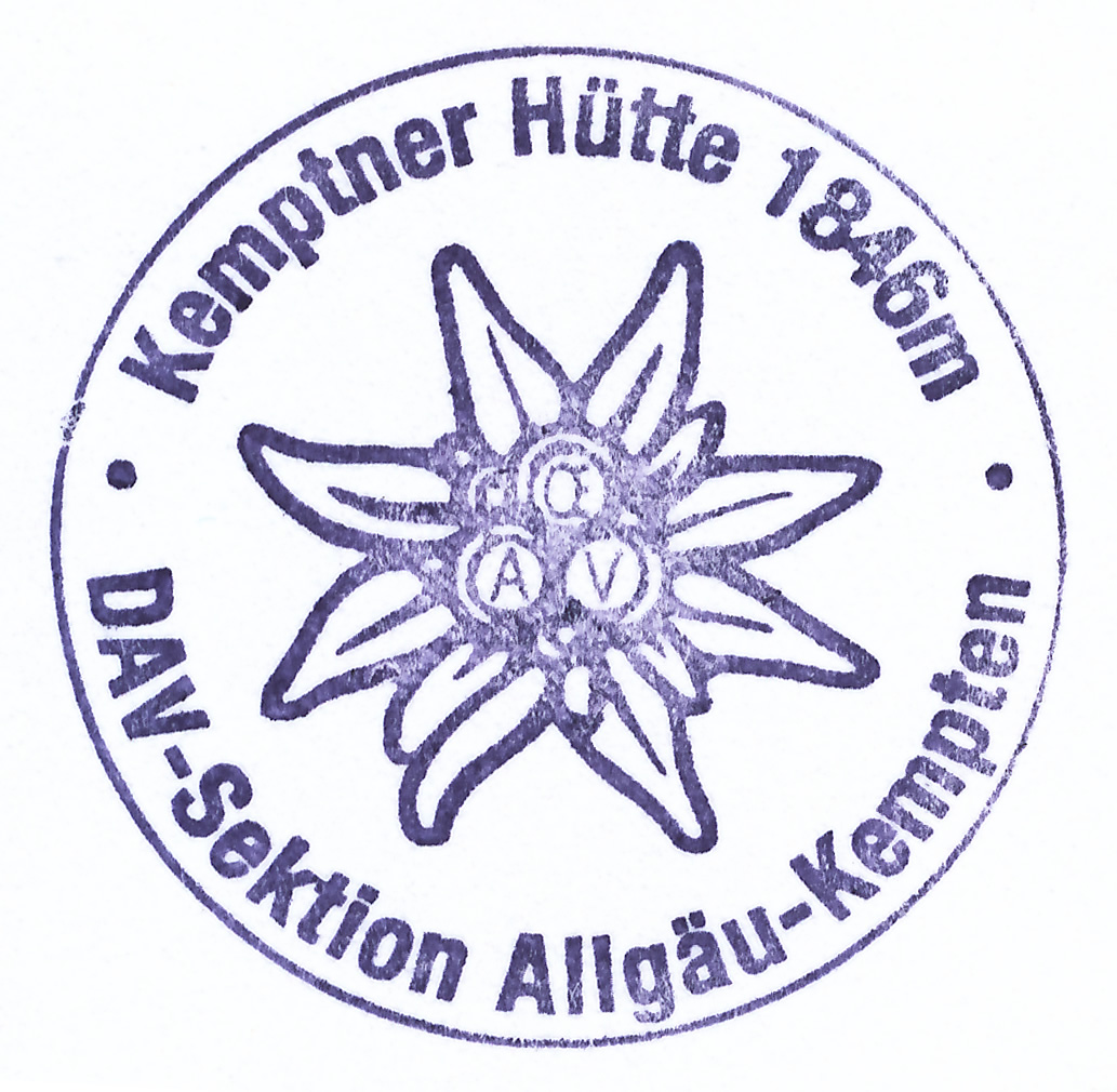 Kemptner Hütte 1845m