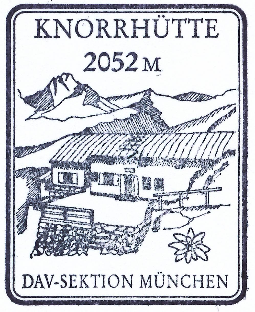 Knorrhütte 2052m