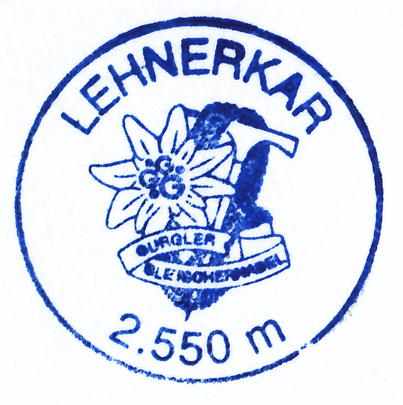 Lehnerkar 2550m