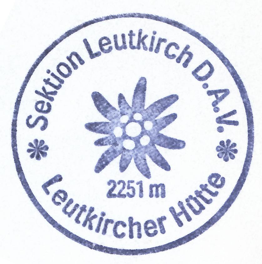 Leutkircher Hütte 2251m