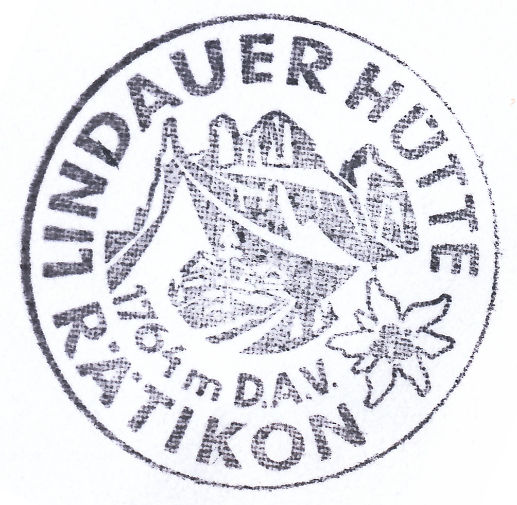Lindauer Hütte 1744m