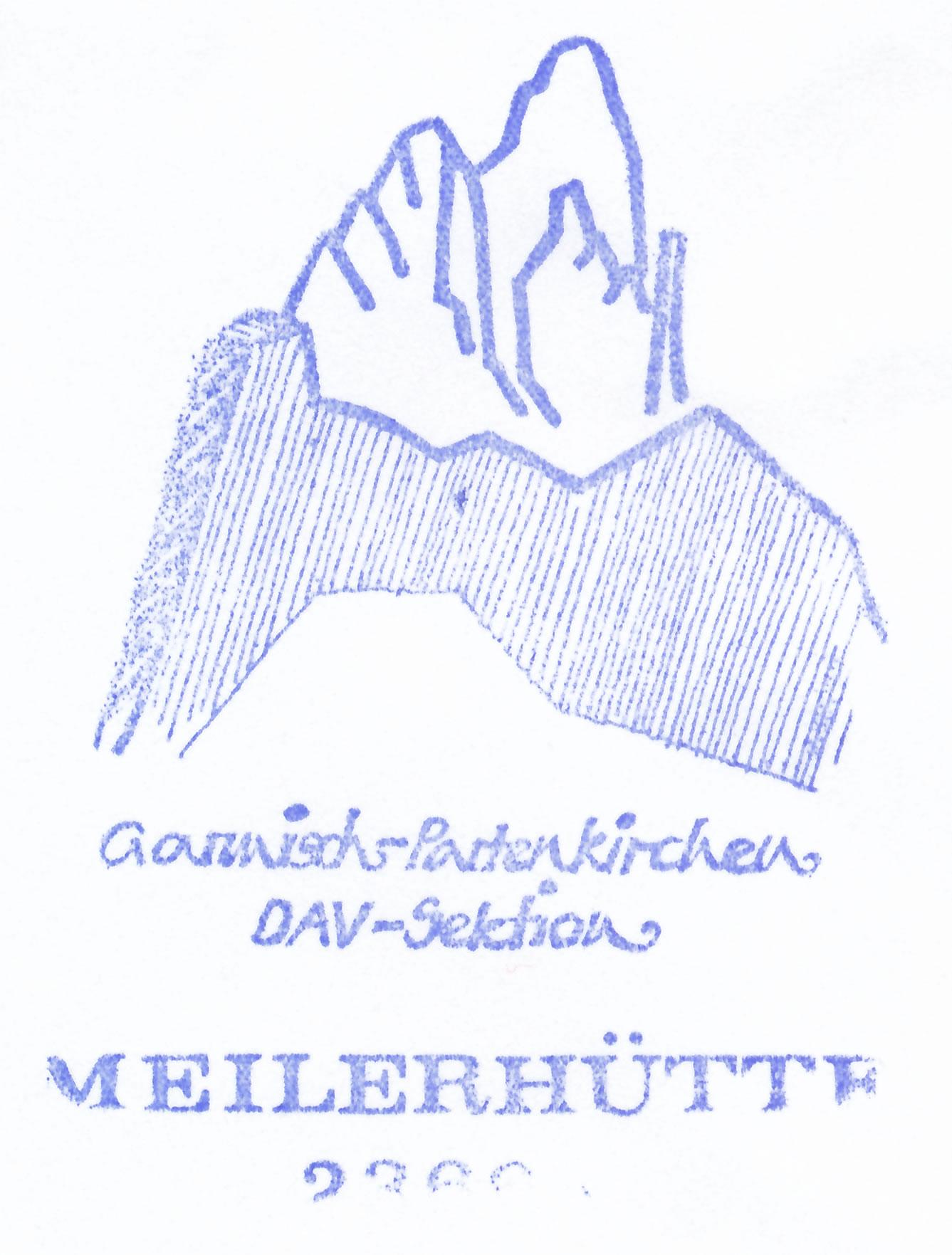 Meilerhütte 2366m
