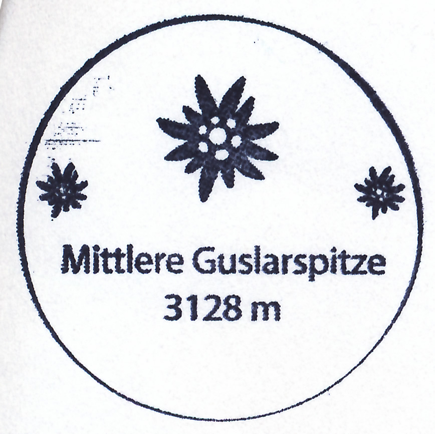 Mittlere Guslarspitze 3128m