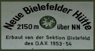 Neue Bielefelder Hütte 2112m