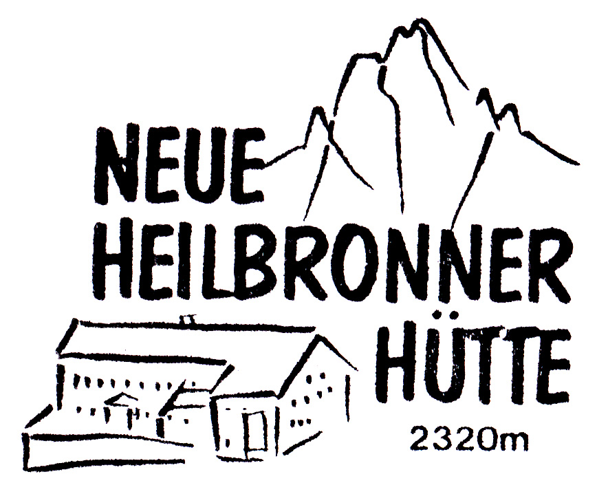 Neue Heilbronner Hütte 2308m