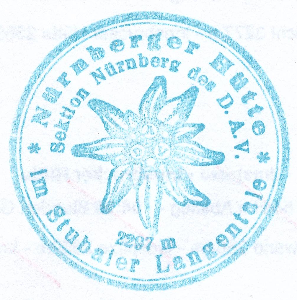 Nürnberger Hütte 2297m