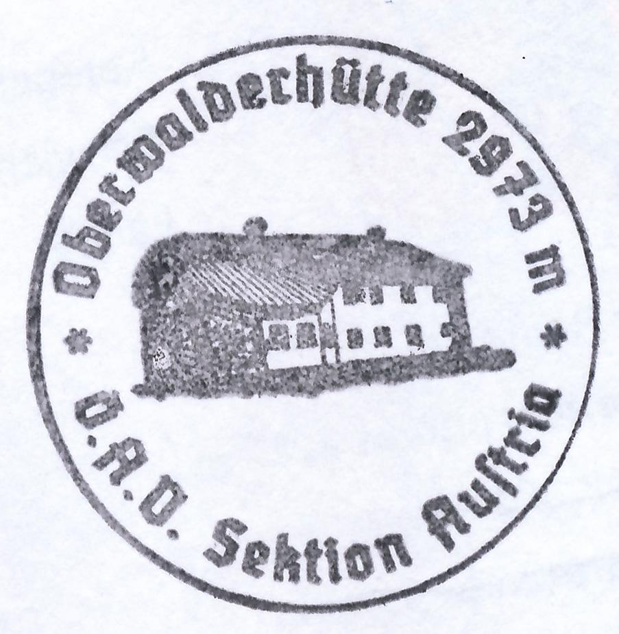 Oberwalderhütte 2973m