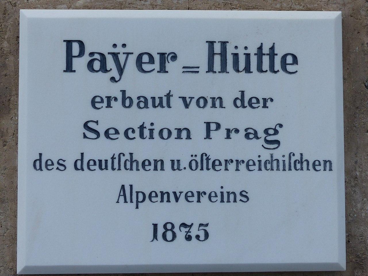 Payerhütte 3029m