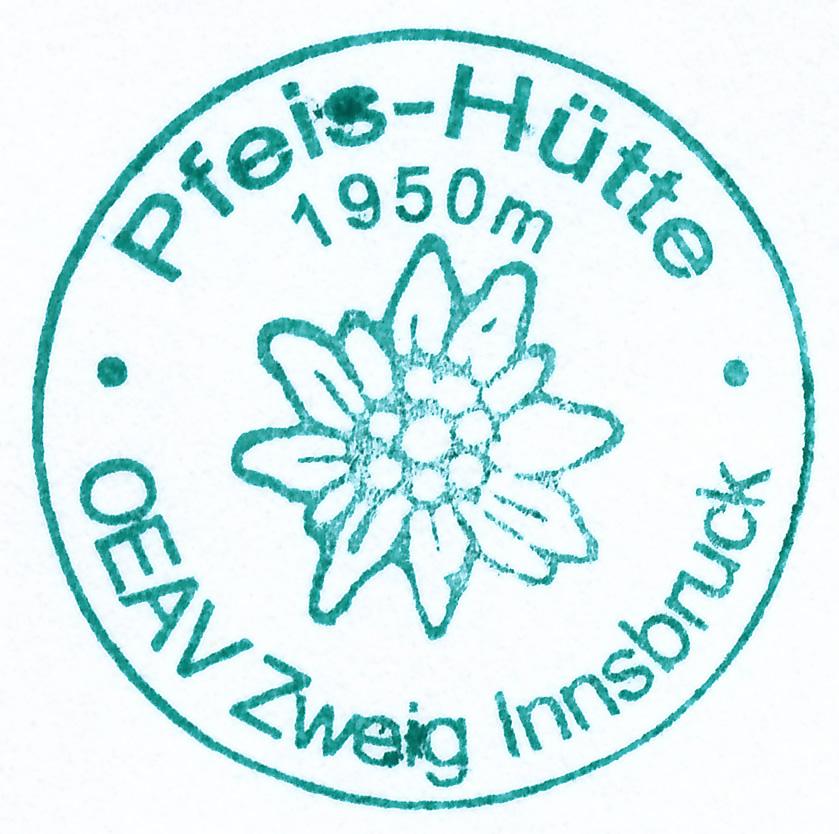 Pfeishütte 1922m