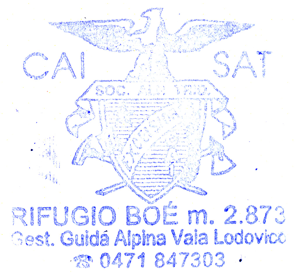Rifugio Boe 2871m