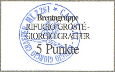 Rifugio Graffer 2261m