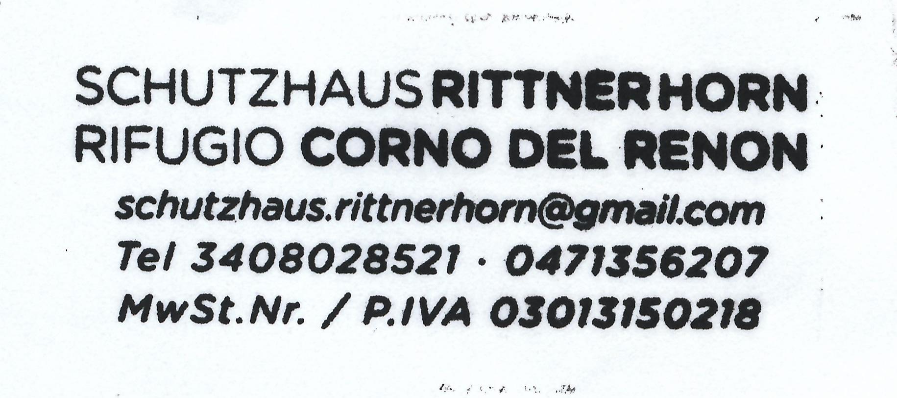 Rittner-Horn-Haus 2259m